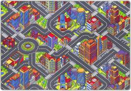 misento 'Big City' Kinderteppich 140x200 cm