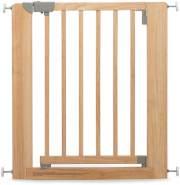 Geuther Türschutzgitter, für Türbreiten 73,5 - 81 cm, Klemmbefestigung, Holz, Natur