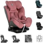 Lorelli 'Mercury' Kindersitz Gruppe 0+/1/2/3 (0 - 36kg) verstellbar Kissen Reboard pink
