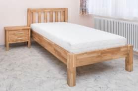 'Ben' Kinderbett aus massiver Eiche, geölt, 120x200 cm