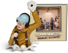 Tonies Bummelkasten 'Irgendwas Bestimmtes', Hörfigur mit ca. 49 Minuten Spielzeit, ab 6 Jahren, deutsch