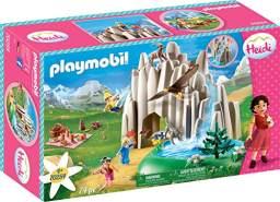PLAYMOBIL Heidi 70254 Am Kristallsee mit Heidi, Peter und Clara, Inkl. Wasserpumpe, Ab 4 Jahren