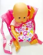 Unbekannt Baby Rose Poppendraagzak