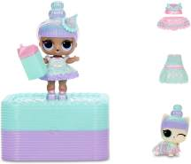 MGA Entertainment L.O.L. Surprise Deluxe Present Surprise - Teal - 1 Spielfigur, zufällige Auswahl