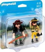 Playmobil 9217 - Duo Pack Ranger und Wilddieb