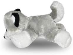 Wild Republic Hug'ems Plüschtier, Kuscheltier, Hund Husky 18cm