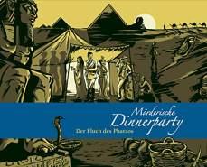 Blaubart Verlag Mörderische Dinnerparty - Der Fluch des Pharaos