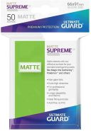 Ultimate Guard UGD010813 Supreme UX Sleeves Standardgröße Matt Hellgrün (50)