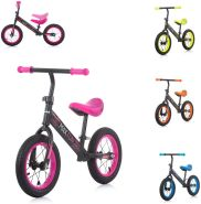 Chipolino Laufrad Max Fun, Lufträder, Sitz verstellbar, Neon-Design, Gummigriffe pink