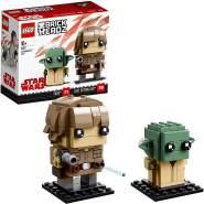 LEGOBrickHeadz Luke Skywalker& Yoda (41627) – Star-Wars-Spielzeug