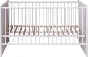 Trendteam 'Clever' Gitterbett 70 x 140 cm weiß