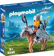 Playmobil 9345 - Zwerg und Pony mit Rüstung Spiel