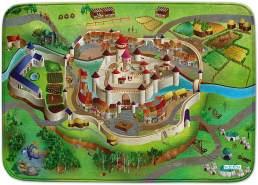 Spielmatte Mittelalter uns verbinden 100 x 150 cm