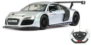 Jamara 404430 Audi R8 LMS 1:14 40MHz-offiziell lizenziert, bis 1 Std. Fahrzeit bei 11 Km/h, LED, Perfekt nachgebildete Details, detaillierter Innenraum,hochwertige Verarbeitung