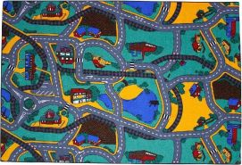 AK Sports Spielmatte Playtime Street 140 x 200 cm 0309006