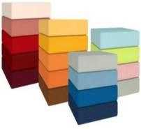 Kneer Qualität 22 Vario-Stretch Topper-Spannbetttuch 160x200x4-12cm 88 toffee
