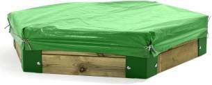 abdeckung für Sandkasten 150 von Hörby Bruk grün