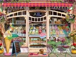 Ravensburger Puzzle 16221 - Ice Cream Shop - 1500 Teile