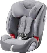 Britax Römer Kindersitz 9 Monate - 12 Jahre I 9 - 36 kg I EVOLVA 123 SL SICT Autositz Isofix Gruppe 1/2/3 I Grey Marble