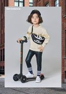 Micro Kinderroller Maxi Deluxe Kickboard Schwarz mit T-Lenker