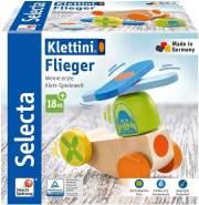 Selecta 62079 Klettini, Flieger, Klett-Stapelspielzeug, 5 Teile, bunt
