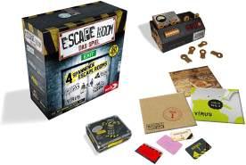 Noris 'Escape Room - Das Spiel' Denkspiel, ab 16 Jahren, 2 - 5 Spieler, ca. 60 min Spielzeit, inkl. 4 Fällen und Chrono Decoder