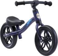 BIKESTAR Federleichtes (3 KG!) Kinderlaufrad Lauflernrad Kinderrad für Jungen und Mädchen ab 2 - 3 Jahre | Mitwachsendes 10 Zoll Kinder Laufrad Lightrunner | Dunkelblau | Risikofrei Testen