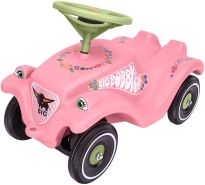 BIG 800056110 'Bobby-Car-Classic Flower' ab 12 Monaten, bis 50 kg belastbar, rosa
