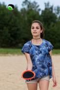 Schildkröt Neopren Klettball Set, 2 Neopren Handfänger mit weitenverstellbarer Handschlaufe, 1 Ball (Ø 6,25 cm), verschiedene Farbstellungen wählbar, alles in wiederverschließbarer Netztasche