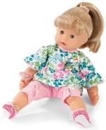 Götz 1927196 Maxy Muffin Blooms Puppe - 42 cm große Babypuppe mit blauen Schlafaugen, Blonde Haare und Weichkörper - Weichkörperpuppe in 8-teiligen Set
