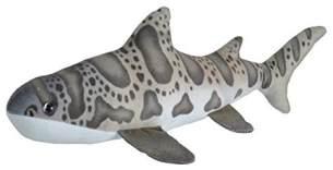 Wild Republic 23412 Plüschtier Living Ocean Mini Leopardenhai, Stofftier, 40 cm, Multi