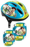 Disney Kinderhelm mit Polstern Toy Story 4 Junior 5-teilig, blau