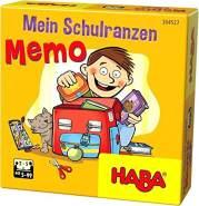 HABA 304527 Mein Schulranzen-Memo