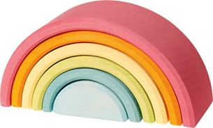 Regenbogen, 6-teilig, pastell