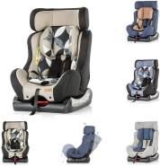 Chipolino Kindersitz Trax Neo Gruppe 0+/1/2 (0-25 kg), Leinen- und Jeansstoff, Farbe:beige