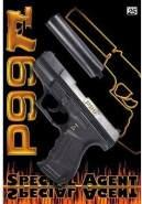 Wicke Walther P99 Amorcespistole mit Schalldämpfer