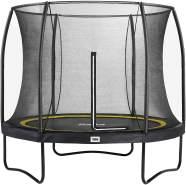Salta 'Comfort Edition' Trampolin, schwarz, rund, 427 cm Durchmesser, ab 5 Jahren, maximal belastbar bis 120 kg, inkl. Sicherheitsnetz