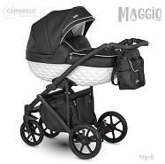 Camarelo Maggio 3in1 Kombikinderwagen Farbe Mg-6 schwarz/weiß
