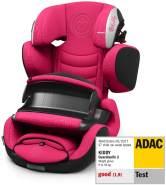 Kiddy Guardianfix 3 | Autokindersitz (Gruppe 1/2/3) (ca. 9 Monate bis 12 Jahre) (ca. 9kg - 36kg) mit Isofix | Kollektion 2019 | Rubin Pink