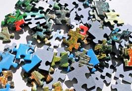 Puzzles - '1000' - Pisa tower