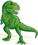 SES Creative Dinosaurier-Stempelset Dinosaur Stempel-Set, Grün
