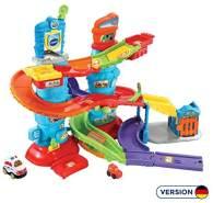 Vtech 80-512904 TUT Baby Polizeistation Flitzer Fahrzeuge Babyauto, bunt