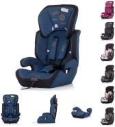 Chipolino 'Jett' Kindersitz Gruppe 1/2/3 (9 - 36 kg), verstellbare Kopfstütze dunkelblau