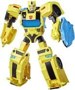 Transformers Bumblebee Cyberverse Adventures Battle Call Officer-Klasse Bumblebee, stimmenaktivierte Lichter und Sounds