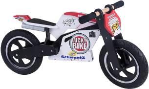 kiddimoto - Laufrad Heroes Superbike Holz 12 - Luft - 312 Kevin Schwantz