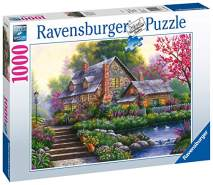 Ravensburger Puzzle 15184 - Romantisches Cottage - 1000 Teile