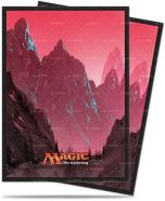 Ultra Pro UP - Sleeves Standard - Magic: The Gathering - Mana 5 Mountain (80 Sleeves)
