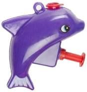 Wasserpistole Mini Dolphin 7 cm lila