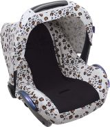 Babyschalenbezug / Leopard