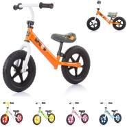 Chipolino, Laufrad Speed 12 Zoll, Gummigriff, Lenkstange Sitz höhenverstellbar orange